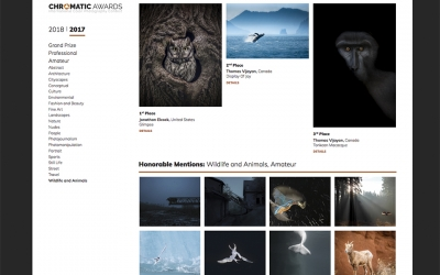 Chromatic Awards. International Color Photography Contest